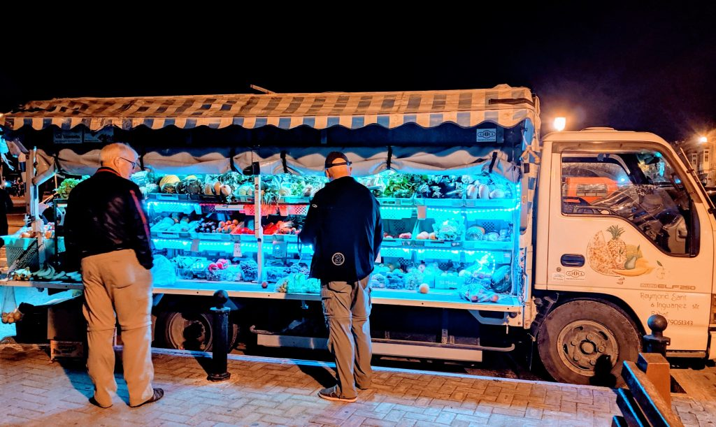 market on wheels, Malta