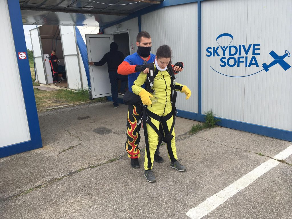 Skydive Sofia,,tandem instructor